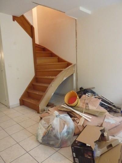 L\'avancée des travaux – Création d\'un garde corps pour l\'escalier ...