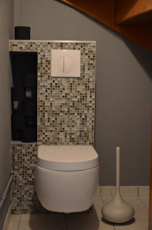Quel bonheur d avoir un mari bricoleur mes toilettes so - Exemple deco wc ...