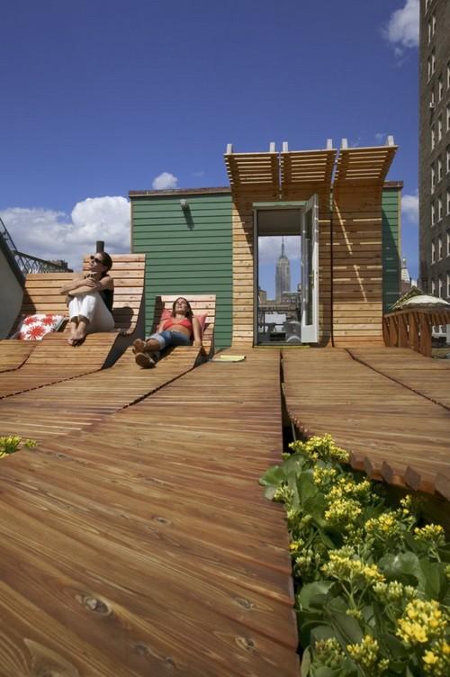 Greenwich Village Roof Garden   Design Outdoor  U2013 F U00e9esmaison