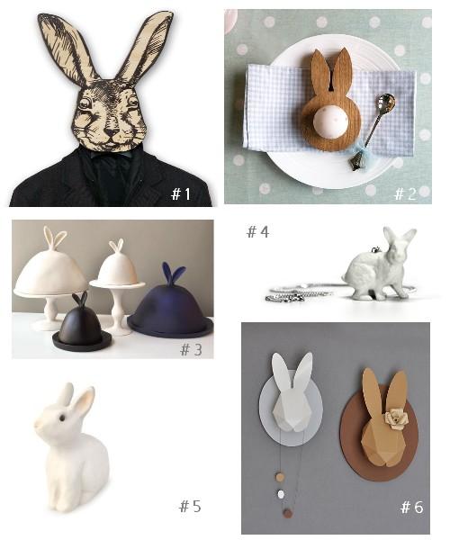 5 avril 2012 f esmaison for Decoration lapin de paques