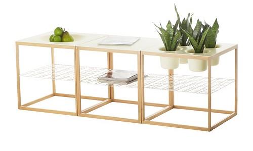 ikea ps 2012 les formes d hier inspirent le design d. Black Bedroom Furniture Sets. Home Design Ideas