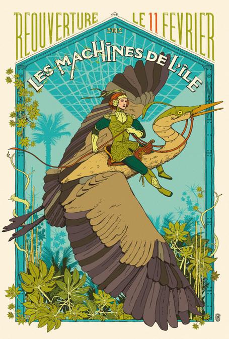 Les Machines de l'île in France puts down roots with the Arbre aux Hérons – the Heron Tree