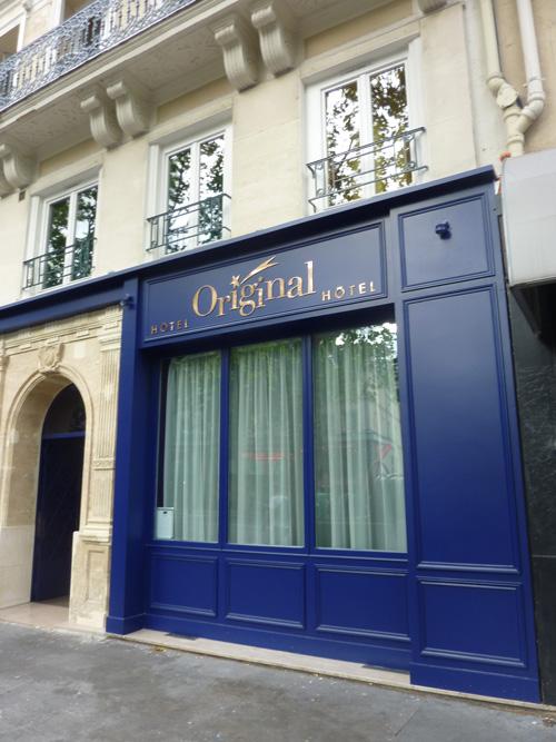 O dormir paris quartier bastille l h tel original by for Paris hotel original