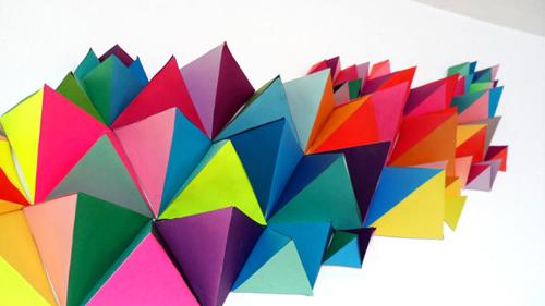 Top DIY une sculpture géométrique 3D – Féesmaison KF46