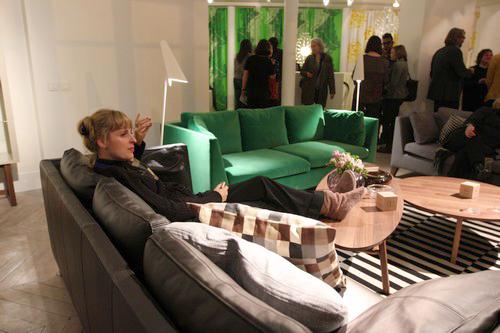 D couvrez stockholm en compagnie d ikea f esmaison for Ikea canape vert