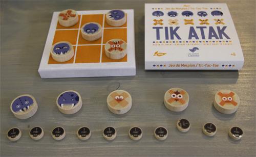 Mo13 les jouets libres d veloppent leur collection f esmaison - Comment fabriquer le jeu tac tik ...