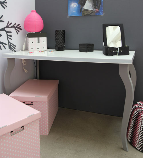 bureau chambre ado fille solutions pour la d coration. Black Bedroom Furniture Sets. Home Design Ideas