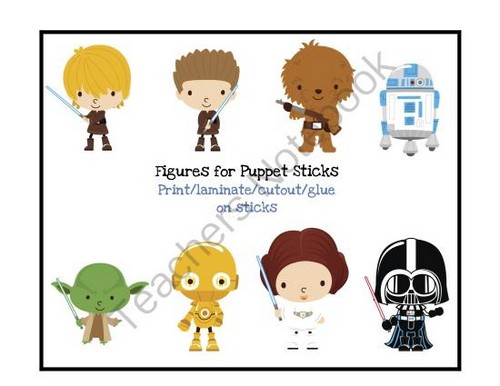 Star_Wars_puppet_sticks-free_printable