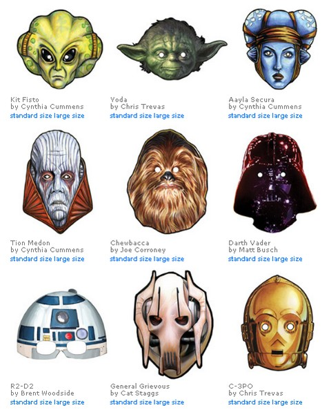 free-star-wars-printable-masks-masque-Halloween-Deguisement-Birthday-Anniversaire