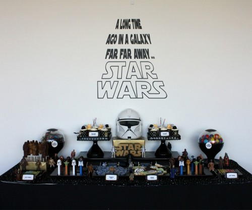 jedi ton anniversaire tu f teras diy star wars birthday f esmaison. Black Bedroom Furniture Sets. Home Design Ideas