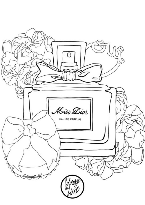 coloriage-mademoiselle-stef-miss-dior-low-1
