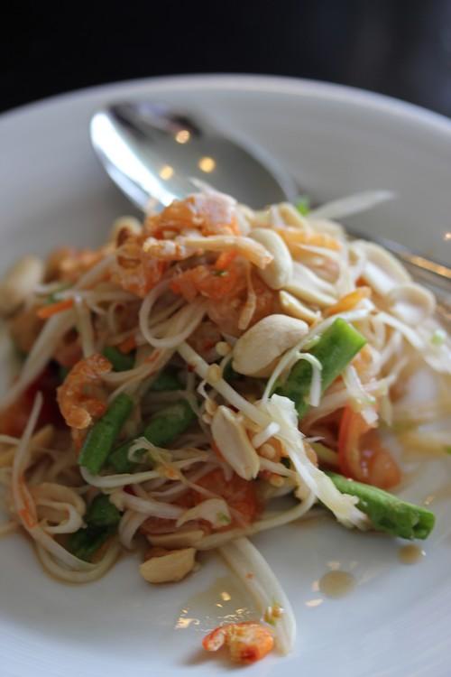Chatrium_Riverside_Hotel-Bangkok-Thailand-food-salade_de_papaye_verte