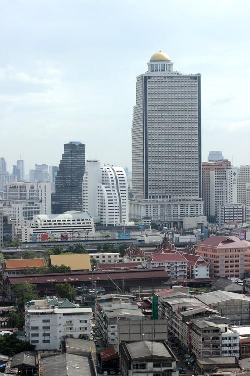 Chatrium_Riverside_Hotel-Bangkok-Thailand-room-view-Baiyoke_Tower_II-Chao_Phraya-Sky_bar-Lebua