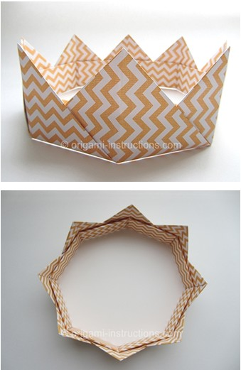 Couronne_origami