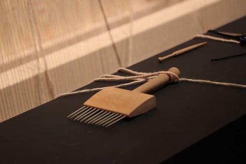 Maison_Et_Objet-Human_made-Elizabeth_Leriche-design-tendance-wool_weaving-1