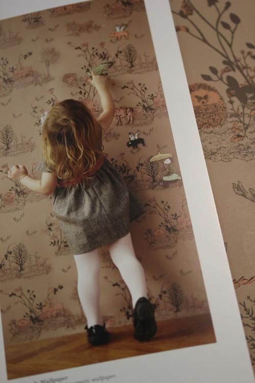 sian zeng cr e des papiers peints magn tiques f esmaison. Black Bedroom Furniture Sets. Home Design Ideas