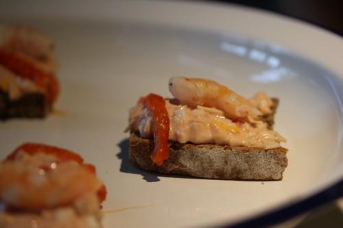 Santander-Cantabrie-Spain-blogtrip-Bar-Tapas-Pinchos-Pintxo-Restaurant-El_Machi-crevettes