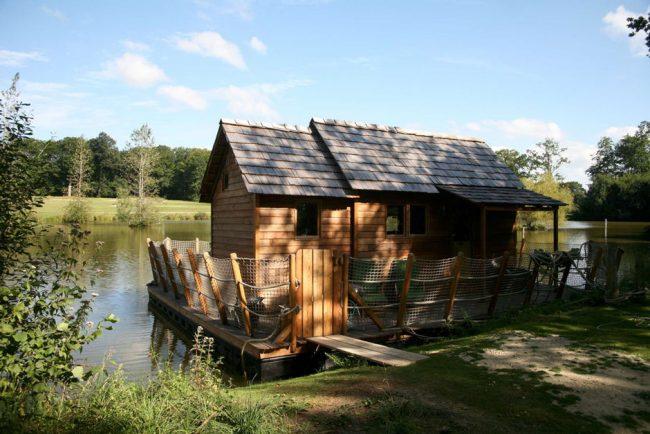 le domaine des ormes cabane famille natureo f esmaison. Black Bedroom Furniture Sets. Home Design Ideas