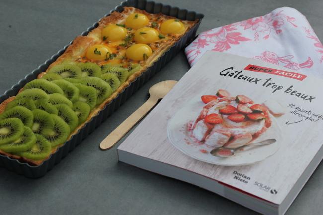 Livres-cuisine-Super_facile-Solar-Dorian_Nieto-Tarte_Ananas_Kiwi-Desserts_trop_beaux