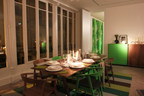 1 Ikea 2013 Stockholm Cuisine Table Chaises Tapis Feesmaison
