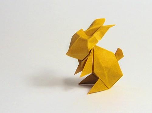 DIY-Origami-Bunny-Maekawa-Rabbit-lapin-Paques-Easter-Ostern